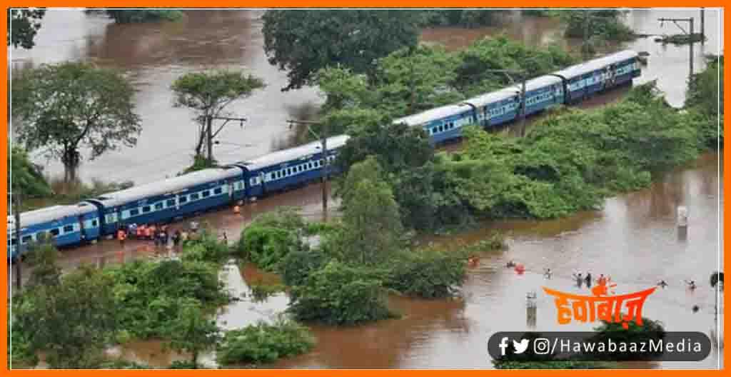 Indian Railway, Bihar me Badh ke karan Route band, Bihar me Train ka prichalan band, Bihar me Route Divert, Bihar khabar, Bihar hindi news, Bihar lettest news,