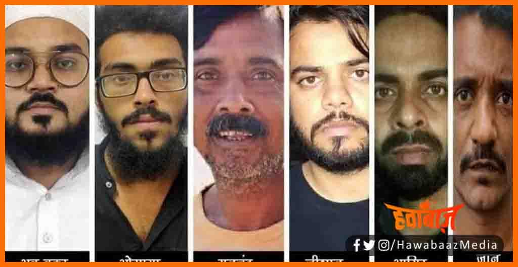6 Atanki Girftar, Bharat ko dahlane ki shajish, Atanki girftar, Bihar news, Bihar lettest news, Bihar khabar, Bihar hindi news,